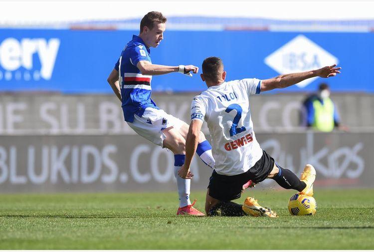 Sampdoria-Atalanta 0-2, la Dea aggancia la Juventus