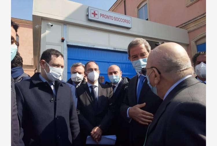 Musumeci inaugura nuovo Pronto soccorso a Bronte