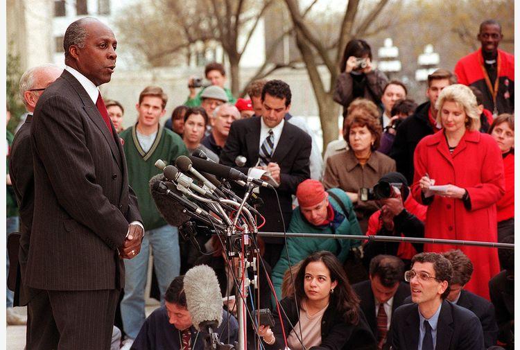 Morto Jordan,attivista diritti civili braccio destro Clinton