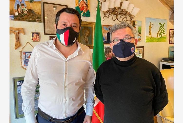 Calabria, incontro Salvini-Spirlì per piano vaccinale e investimenti