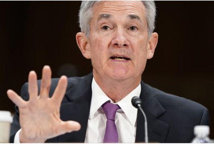Powell, Ripresa economia causerà aumento inflazione temporaneo