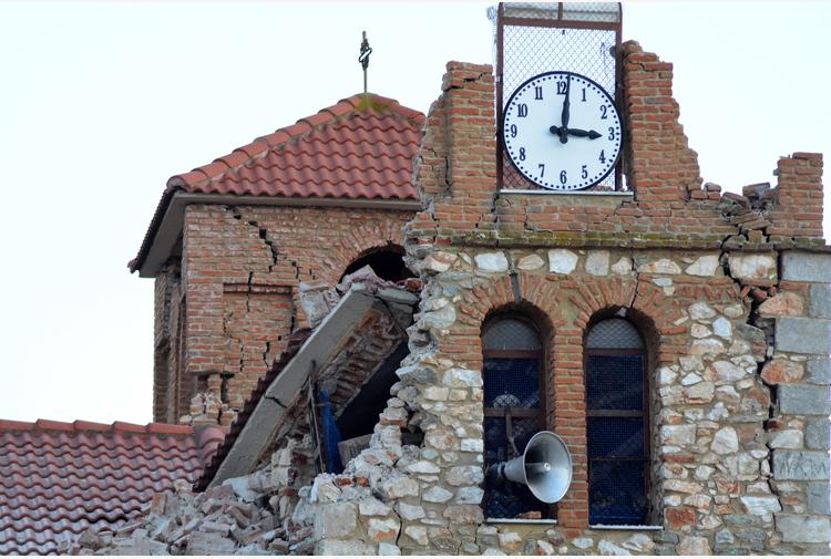 Nuova scossa di terremoto in Grecia, 5.9
