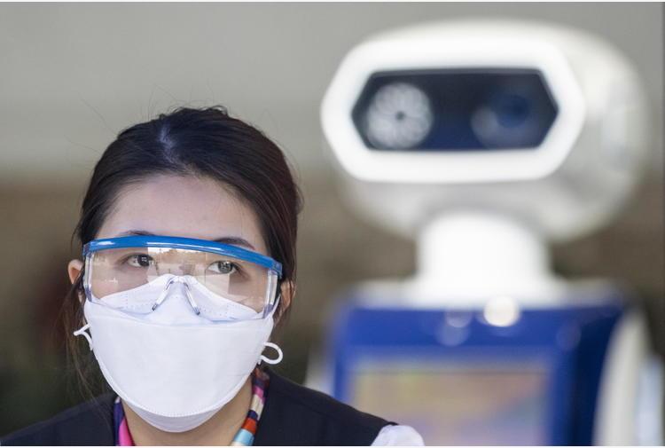 Covid, avatar robotici aiutano uomo in ambienti resi ostili