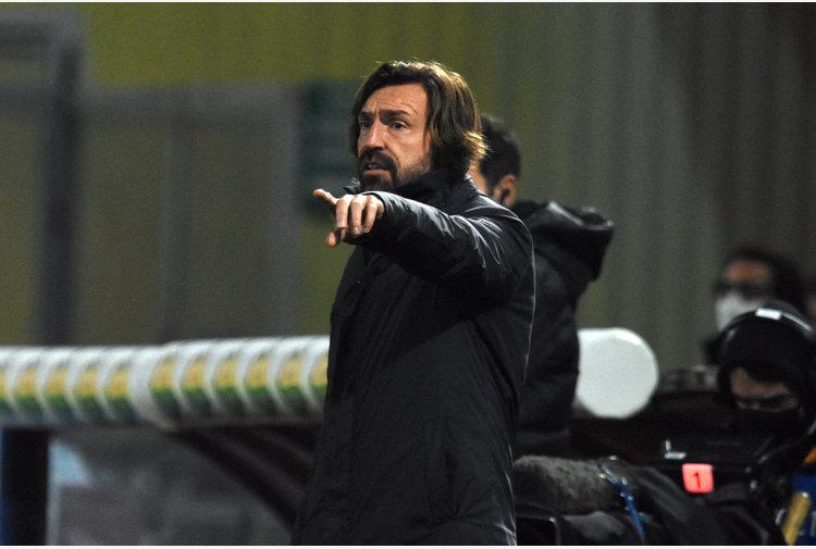 """Pirlo """"Tutte le gare sono decisive, il presente è la Lazio"""""""