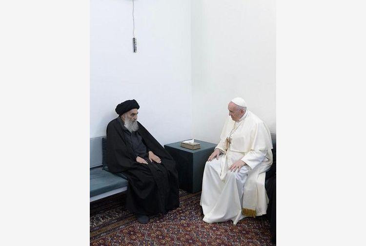 Iraq, Papa ringrazia Al-Sistani: ha difeso deboli da violenza