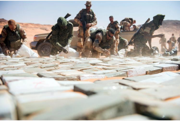 Niger: sequestrate 17 tonnellate di resina di cannabis