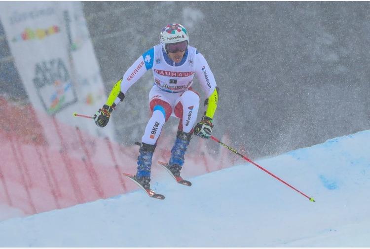 Odermatt vince il Super-G di Saalbach, Tonetti 12°