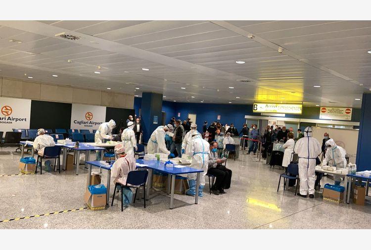 Sardegna bianca:test in aeroporto Cagliari su 300 passeggeri