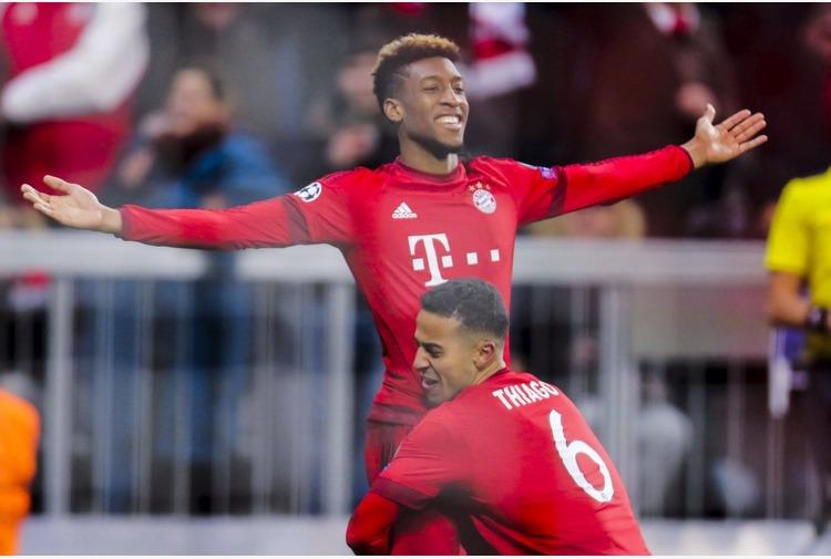 Coman respinge offerta rinnovo del Bayern, piace a ManUtd e City