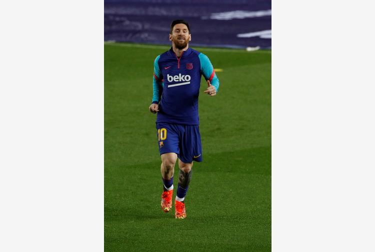Calcio: nuovo record Messi, eguaglia presenze Xavi al Barca