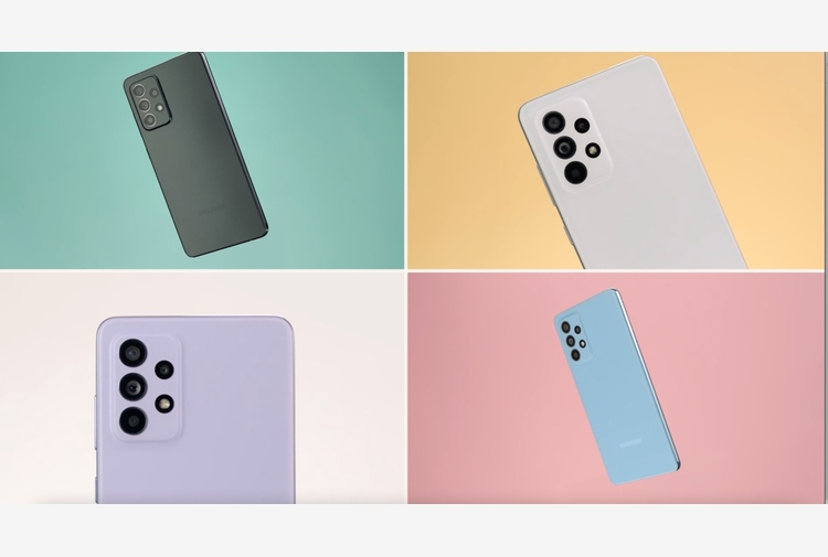 Samsung lancia il 5G per tutti: Galaxy A52