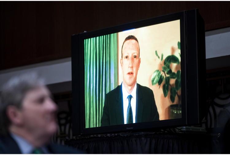 Zuckerberg, Facebook non responsabile attacco Congresso Usa