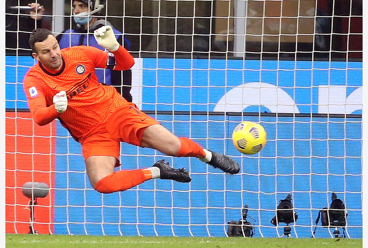 Covid: Inter, Handanovic negativo al tampone