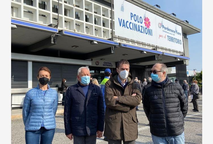 Vaccino, Riccardi 'In fiera a Pordenone modello inoculazione massiva'