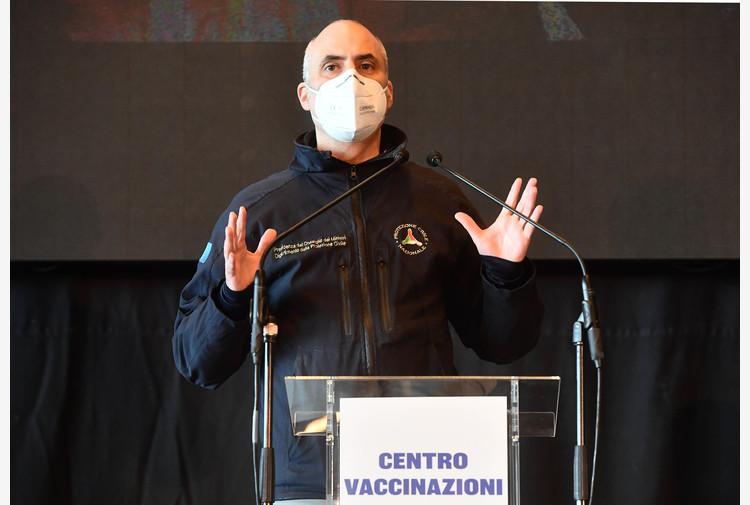 Curcio, Lombardia vaccina più di tutti, cruciale per Italia