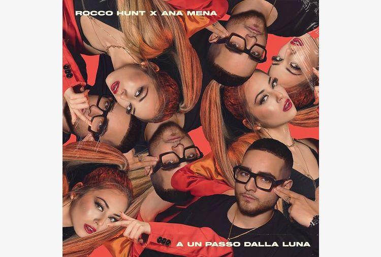 Rocco Hunt e Ana Mena conquistano quinto disco di platino