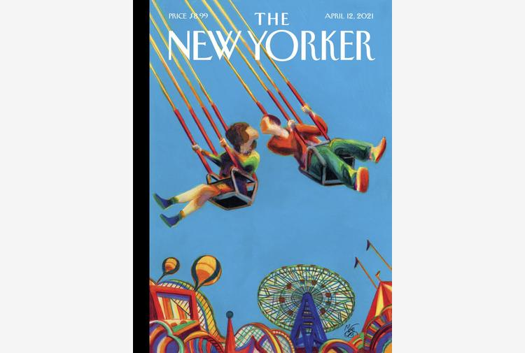 Coney Island, copertina New Yorker celebra la riapertura