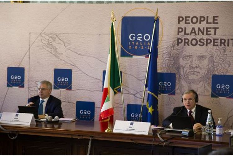 G20 Finanze, Franco: prospettive migliorano, nessuno resti indietro