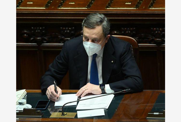 Draghi: condanno violenze ma capisco disperazione e smarrimento
