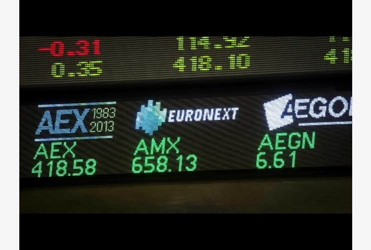 Borsa: Europa positiva in chiusura, Parigi +0,57%