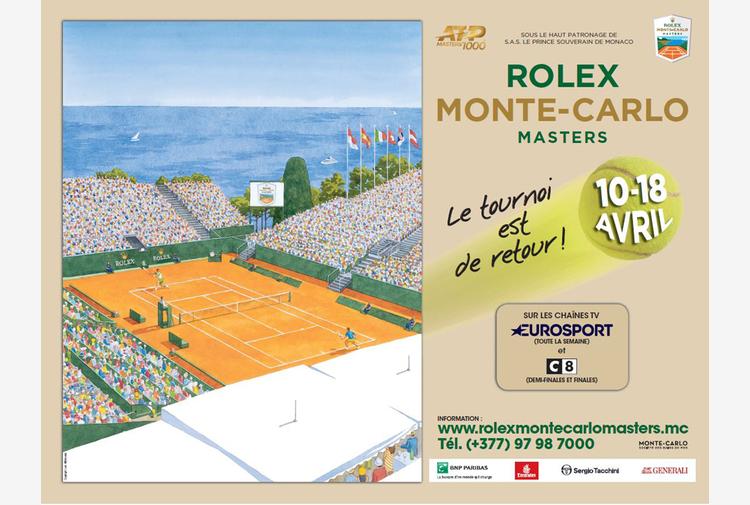 ATP Monte-Carlo: da domenica il match del giorno alle 21.00 su Supertennis
