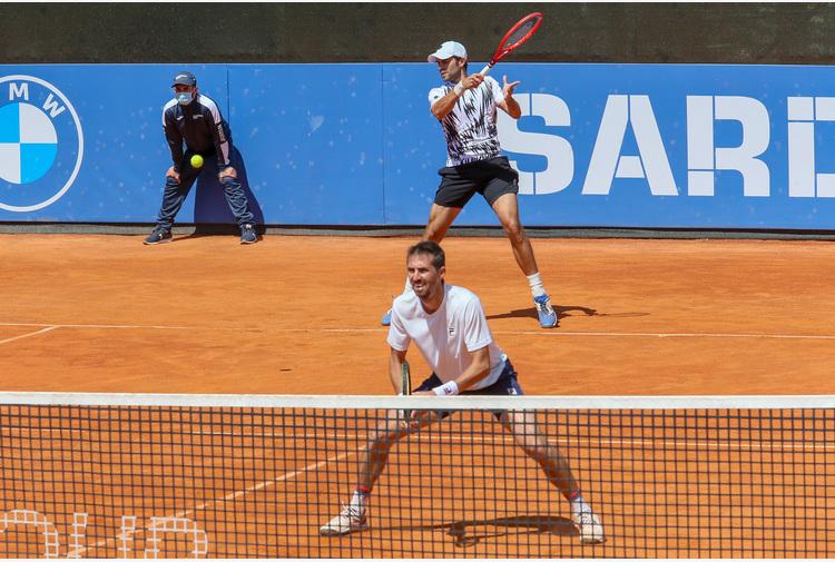 Sardegna Open, doppio: sarà Bolelli a sfidare per il titolo Vavassori/Sonego