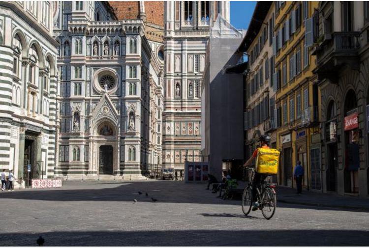 Toscana zona arancione, ma Firenze e Prato ancora zona rossa