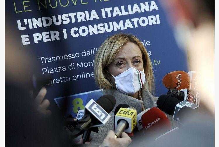 Governo, Meloni: continuità con Conte è sotto gli occhi di tutti