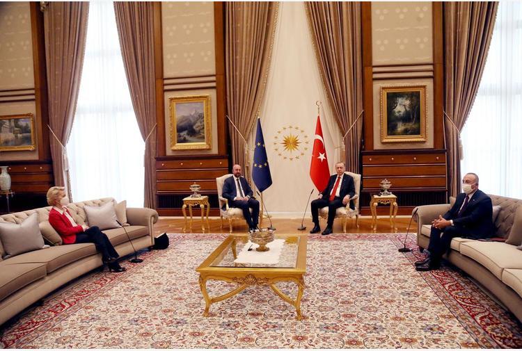 Von der Leyen su Erdogan-Michel: 'Mi sono sentita sola'