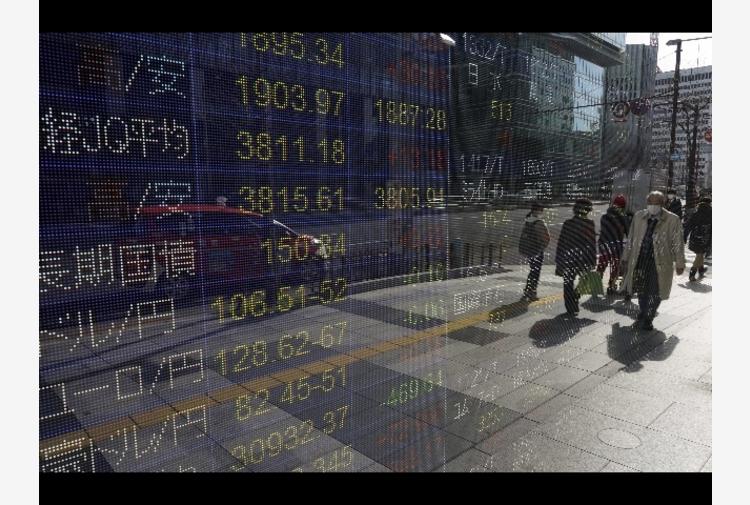 Borsa: Tokyo, apertura in lieve ribasso (-0,22%)