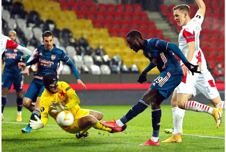 Europa League: 4-0 allo Slavia Praga, Arsenal in semifinale