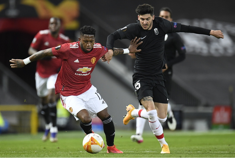 Europa League:2-0 al Granada,Manchester United in semifinale