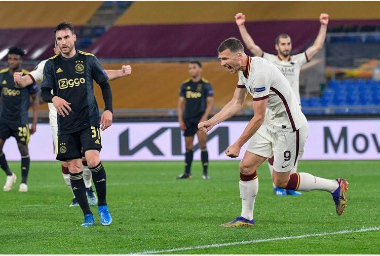 Roma-Ajax 1-1, giallorossi in semifinale di Europa League