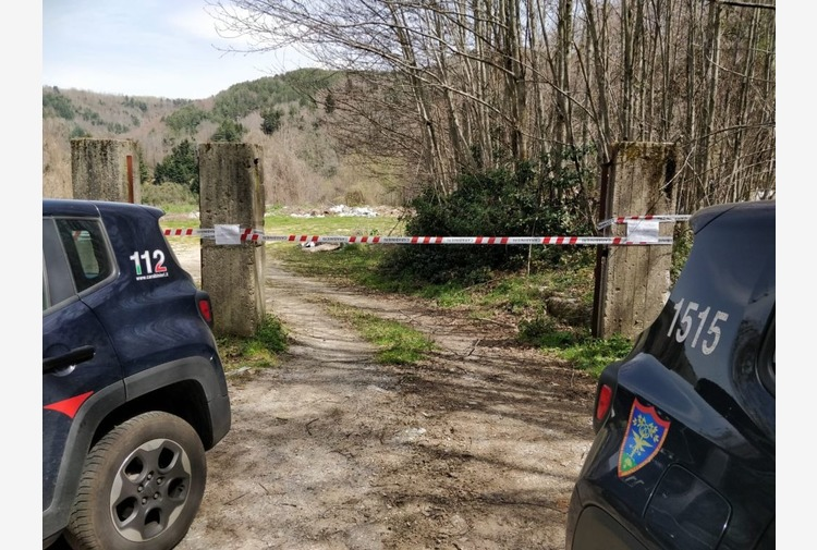 Rifiuti speciali in discarica chiusa al confine con Parco Aspromonte
