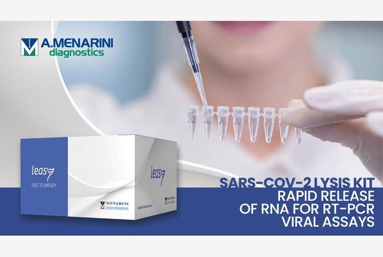 Covid: Menarini, nuovo reagente made in Italy per isolare l'Rna virale