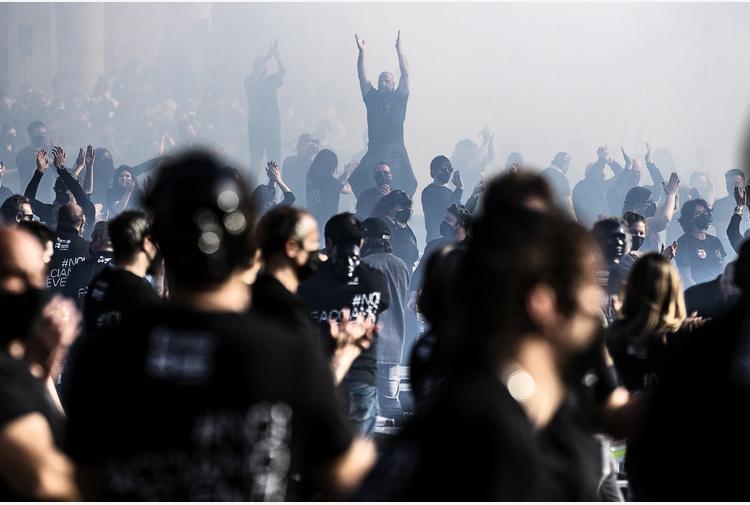 Mille Bauli in piazza, Zero 'non abbiamo paura del palco'