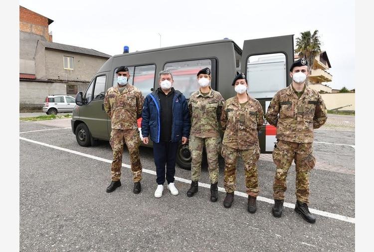 Vaccino, arrivato in Calabria il team sanitario dell'Esercito