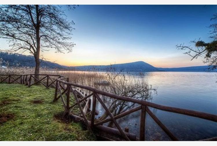 Lazio, inaugurato parco 'sport a 360°' nella riserva del Lago di Vico