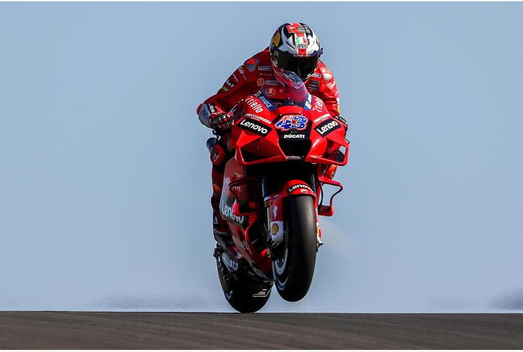 Moto: Portogallo; Miller su Ducati domina warm up Motogp