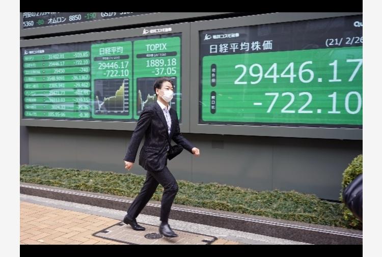 Borsa: a Tokyo apertura in calo (-1,11%)