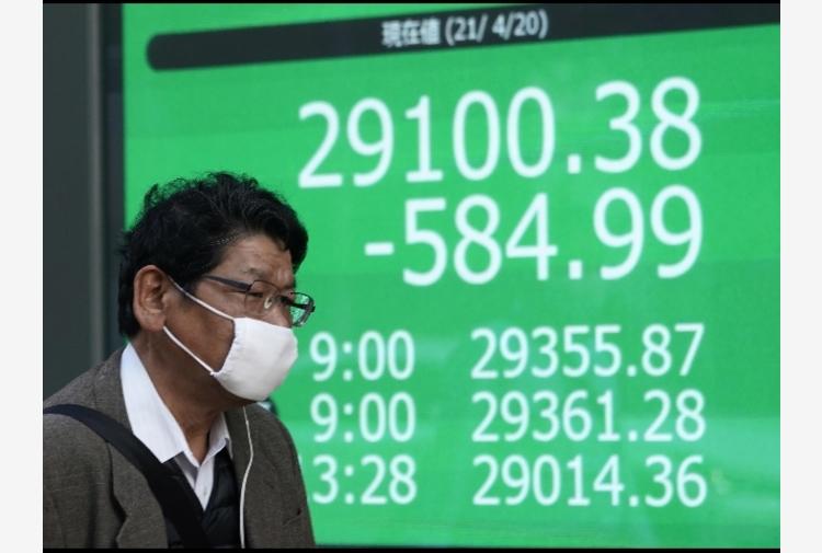 Borsa: a Tokyo apertura in netto ribasso (-1,56%)