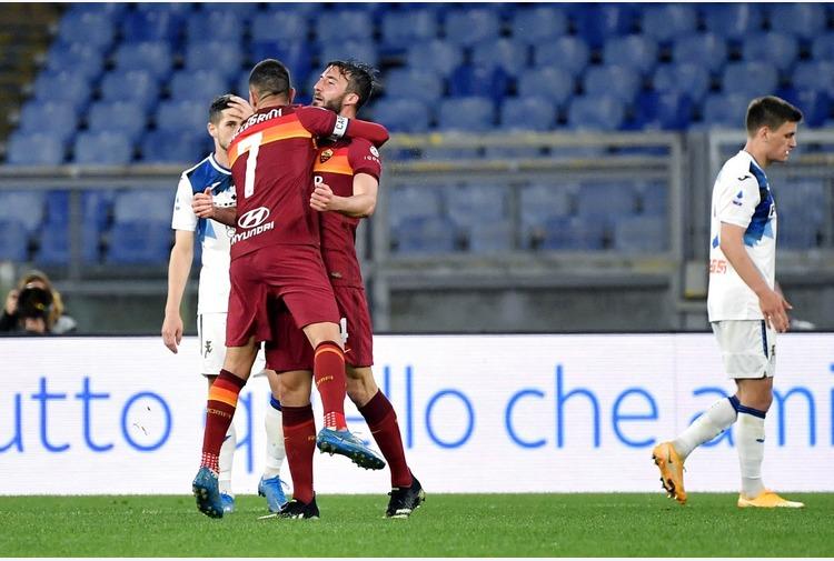 Calcio: Roma-Atalanta 1-1, Cristante risponde a Malinovskyi