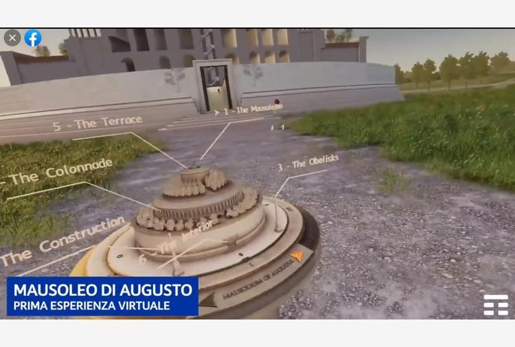 Raggi a Zuckerberg, visto il Mausoleo? ti aspettiamo a Roma