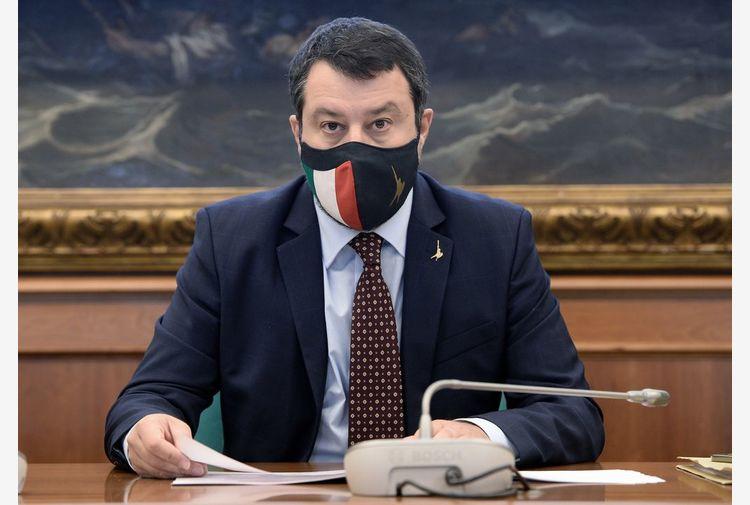 Salvini: ho due piedi dentro il governo, Draghi l'uomo giusto