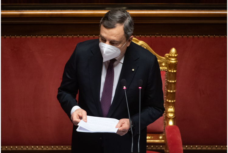 Draghi, Italia esposta a rischio clima anche per abusi