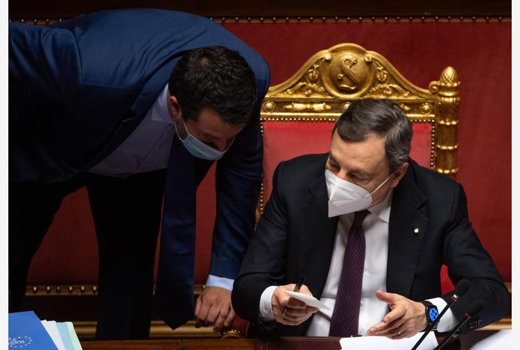 Salvini, Draghi persona giusta al posto giusto