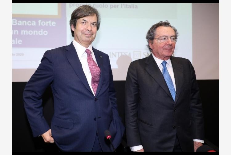 Intesa: Messina,500 mld crediti, vicini a famiglie e imprese
