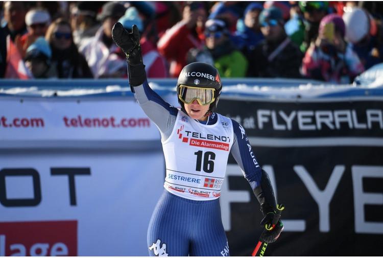 Sci alpino: Goggia 'Dimostrato la mia superiorità ma vivo nel futuro'