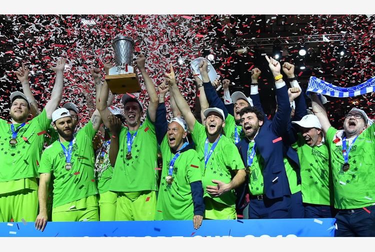 Due anni fa la vittoria della Fiba Europe Cup