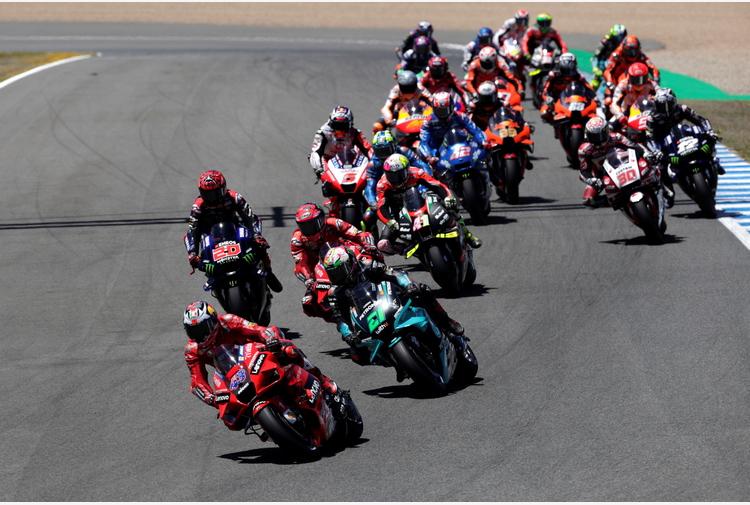 Gp Spagna: doppietta Ducati, vince Miller su Bagnaia